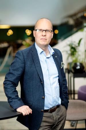 Claes Thunblad, nationell samordnare för sund konkurrens på Byggföretagen.