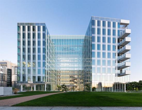 Kontorsbyggnaden Parkview i Prag säljs förcirka 770 miljoner kronor (bilden är en illustration).