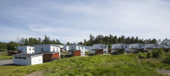 <span>Kronogården etapp 4 av 5 pågår i Älvängen utanför Göteborg.</span>