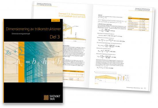 Publikationerna Dimensionering av träkonstruktioner Del 3.