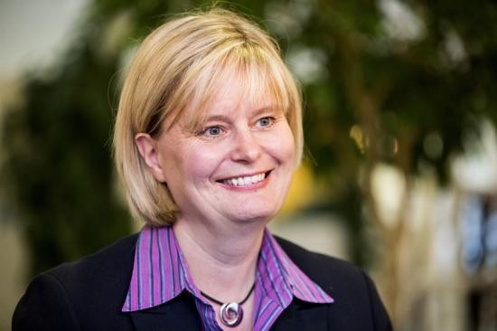Christina Lindbäck NCC:s hållbarhetschef.