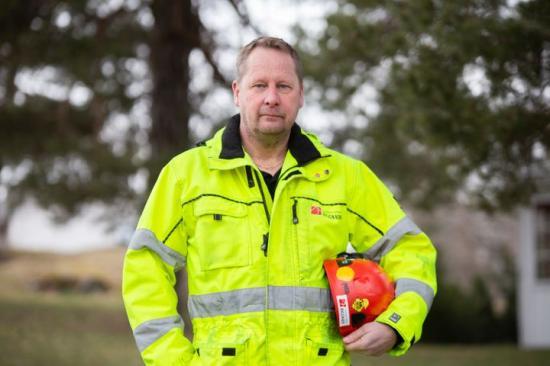 Tomas Kullberg, ordförande Byggnads Stockholm-Gotland.