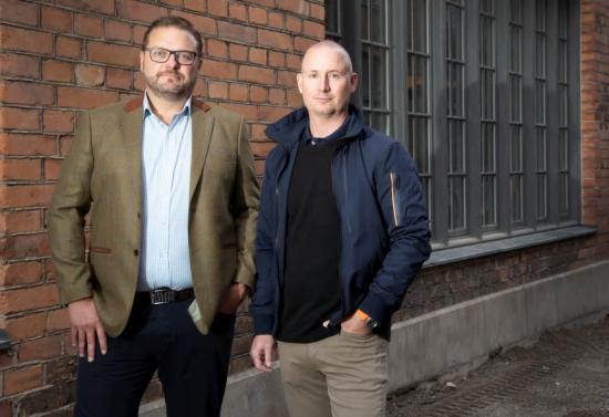 Irenos grundare, Peter Östling och Jesper Zandin.