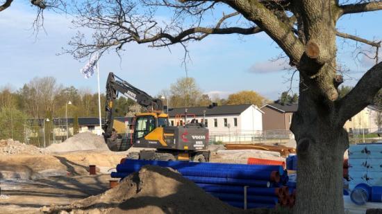 I området Sandtorp, tio minuter från centrala Norrköping, växer Brf Dansbandet 1 fram.