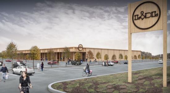 Lidl-butiken i Visby är ett av projekten med högt hållbarhetsfokus, som LINK arkitektur arbetar med.