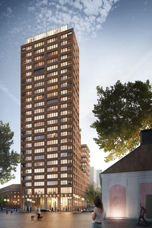 Jubileumshuset uppförs till HSBs hundraårsjubileum år 2023.