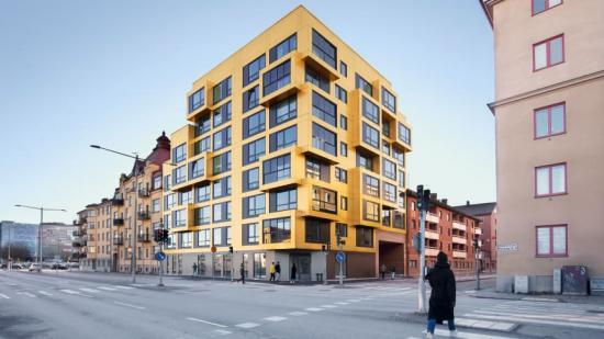 Kvarteret Stenen i Örebro.