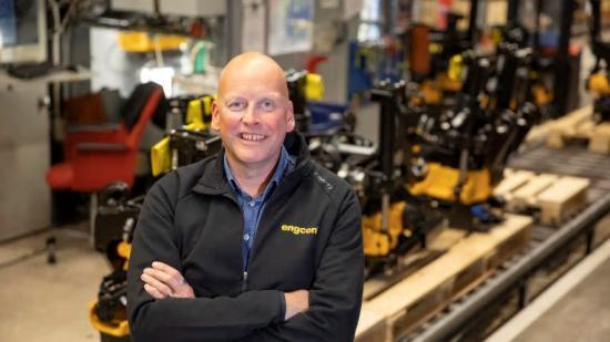 Krister Blomgren, VD för Engcon Group.