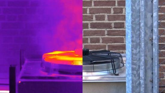 Den överskottsvärme som en kylmaskin avger kan användas i en värmepump och överskottskylan från värmepumpen kan sedan användas i kylmaskinen. Det sker därmed en balansering av värme och kyla i fastigheten, vilket leder till att behovet av tillförd energi reduceras avsevärt.