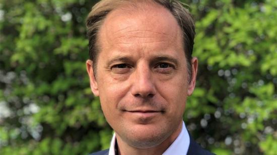 Joachim Holmberg, ny affärsområdeschef för NCC Property Development.