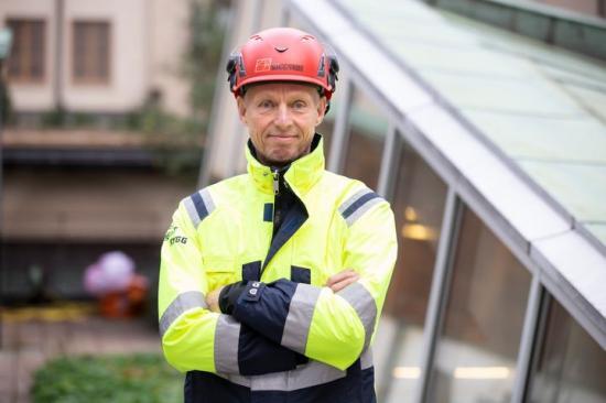 Byggnads avtalssekreterare Torbjörn Hagelin.