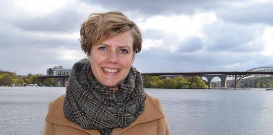 Ebba Örwall Lovén är utbildad miljövetare och sedan februari i årarbetar hon somkvalitets- och miljöchef på Betongindustri.