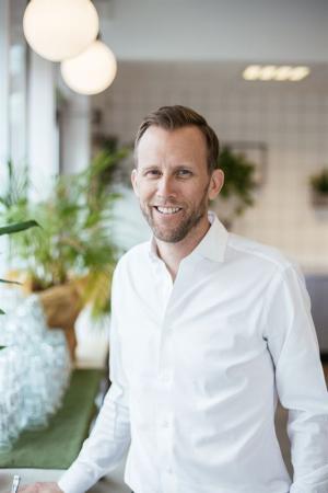 Johan Girdo, VD Oatly EMEA.