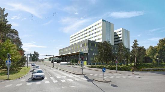 Kunden är Norra Österbottens sjukvårdsdistrikt.