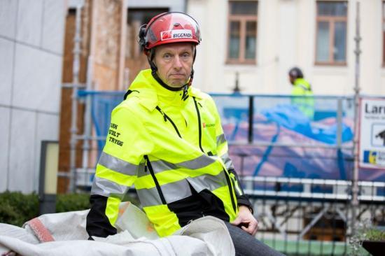 Torbjörn Hagelin, Avtalssekreterare, Byggnads.