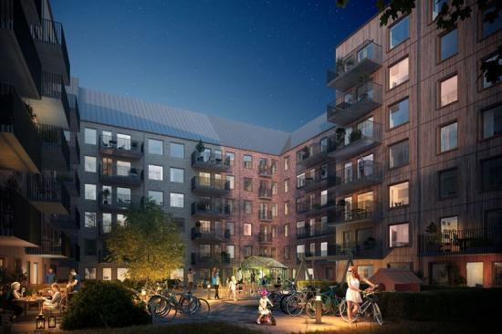 Med förvärvet mer än fördubblar Heimstaden sitt bestånd iHaninge kommun (bilden är en illustration).