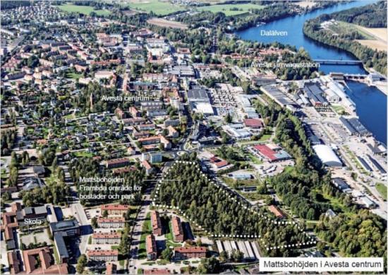 <span>Vid Alvar Aaltos hus och centrumnära, bjuder Avesta kommun in till en markanvisningstävling för bostadshus på höjden.</span>