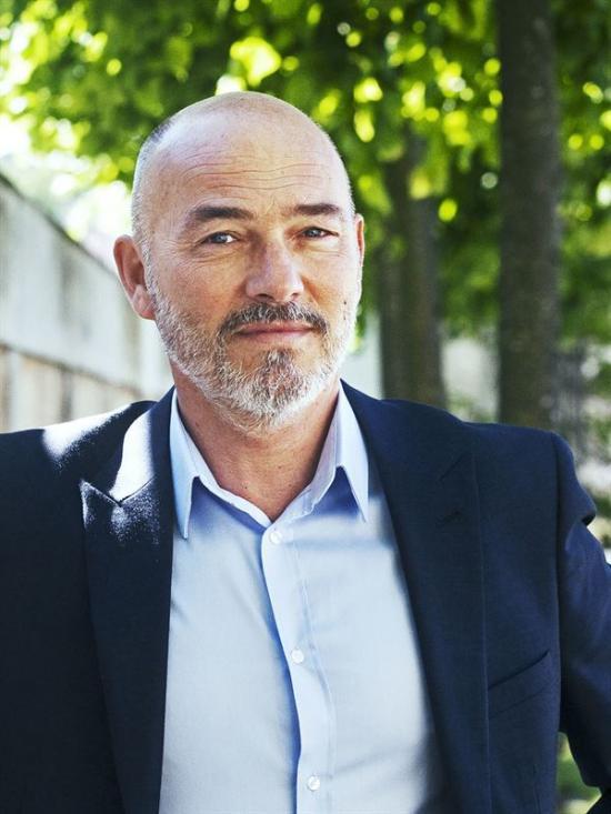 Lars Johnsson, fastighetsdirektör för Folksamgruppen.