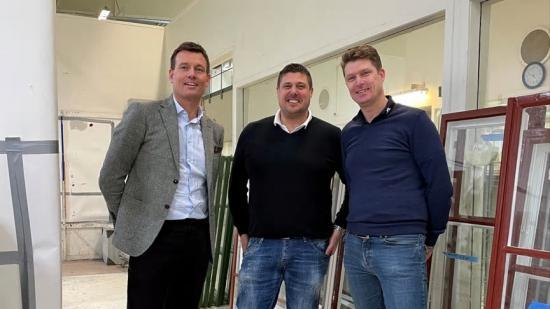 Från vänster: Pål Warolin, Martin Viklander och Peter Johansson.