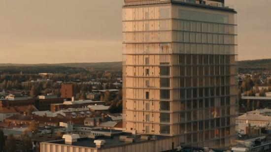 The Wood Hotel by Elite - en av världens högsta träbyggnader.
