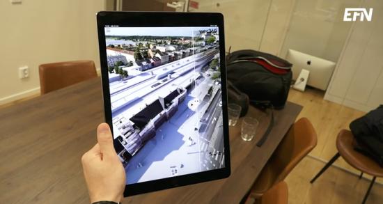 3D-visualiseringar av byggprojekt.