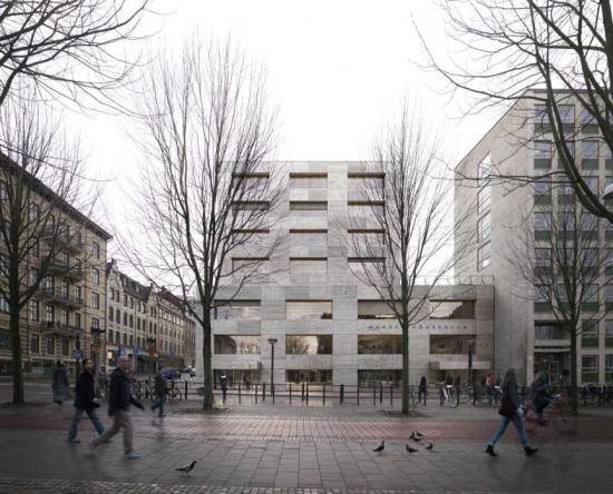 Annex, vinnare arkitekttävling Handelshögskolan i Göteborg.