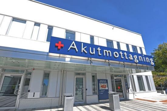 Akutmottagning, Södertälje sjukhus.