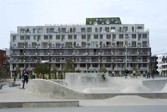 Cord Siegel och Axel Hauschild vinner Svensk Betongs Arkitekturpris Prefab 2018.