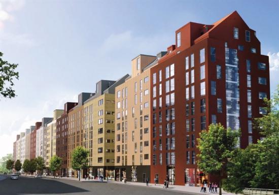 Solna Centrum nya bostäder (bilden är en illustration).