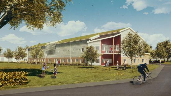Trollhättan kommun rustar för framtiden och bygger nya vård- och omsorgsboenden.