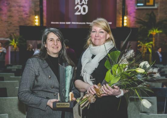 White arkitekter tilldelades PLÅTPRISET 2020 för nya akutvårdsbyggnaden vid Danderyds sjukhus. Francesca Bianchi och Helena Polgård Nygren tog emot priset under arkitekturdagen PLÅT20 den 13 februari Stockholm.