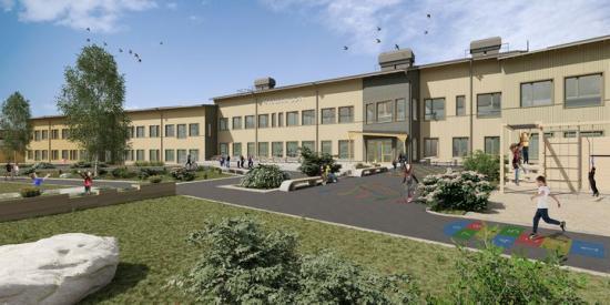 Inom kort sker byggstarten för Paradisskolan i Borlänge. Planerad invigning är hösten 2021.