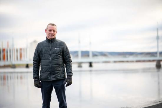 Jonas Zacharoff, VD på ROCKWOOL AB.