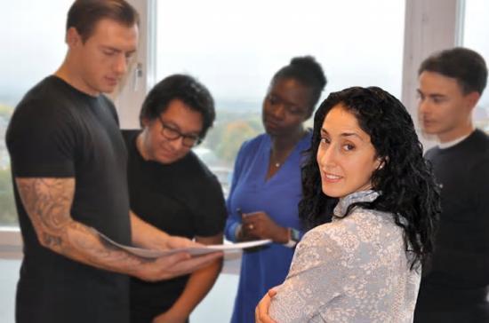Byggmästargruppen startar kvinnligt nätverk, EFFEKT. Ansvarig för nätverket är Nathalie Rocha Flores, projekteringsledare på BMG.