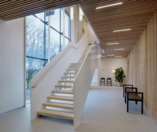 Göteborgs krematorium. Arkitekt: Erséus arkitekter. Beställare: Svenska kyrkan.