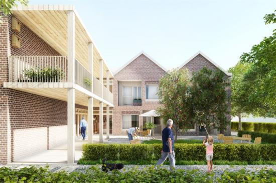 <span><span><span><span><span><span><span><span>Med hållbarhet och god arkitektur i fokus vinner Sveafastigheter markanvisning för särskilt boende för äldre, gruppbostad och lägenheter intill natursköna Gårdsjö strand i centrala Flen (bilden är en illustration).</span></span></span></span></span></span></span></span>
