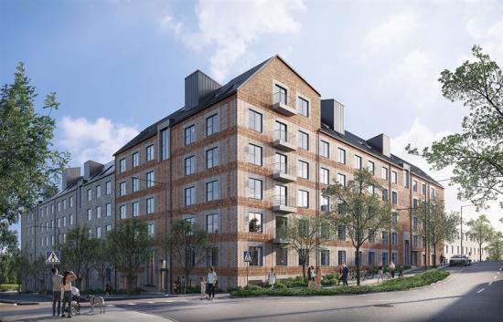 Visionsbild över bostadsprojektet <span><span><span><span>Viggby &Auml;ngar.</span></span></span></span>