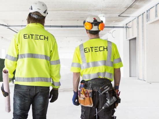 Eitechs medarbetare har mångårig erfarenhet från komplexa byggprojekt tack vare sin specialistkompetens inom bland annat el- och teleinstallationer, larm och säkerhet, fastighetsstyrning och reservkraft. Ny påbörjas två nya uppdrag i Skåne, kontorshuset Foajén och kvarteret Cementen.