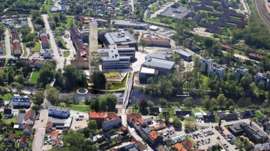 Ängelholms nya, hälsosamma landmärke kommer byggas längs åpromenaden (bilden är en illustration).