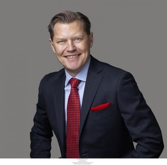 Olof Stålnacke, finanschef Sweco.