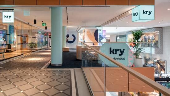 Kry:s nya vårdcentral i Gallerian.
