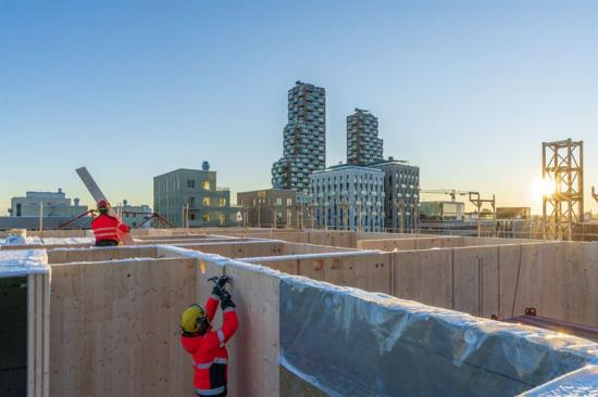 Cederhusen ska bli Stockholms första innerstadskvarter i massivträ.