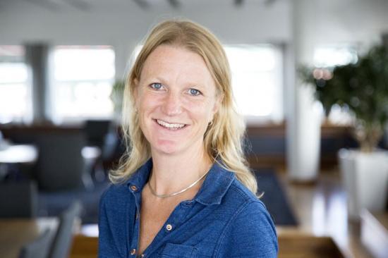 Pernilla Löfås, hållbarhetsstrateg på NCC Building Sverige.