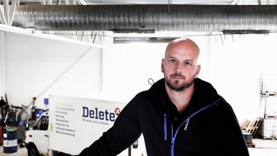 Tobias Blomquist, försäljningschef på Delete.