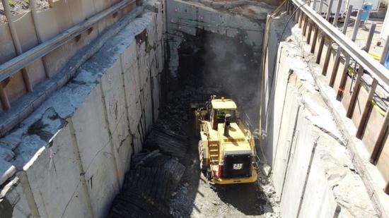 Varbergstunneln.