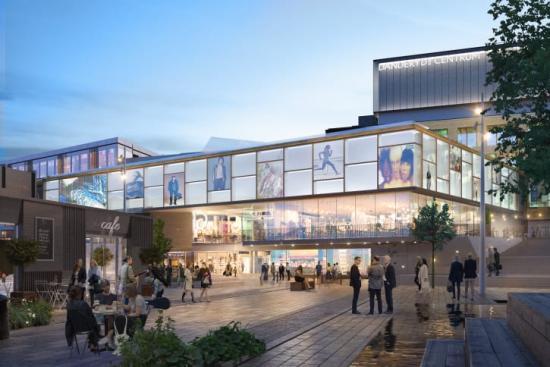 Schneider Electric vald som partner vid ombyggnation av Mörby Centrum.