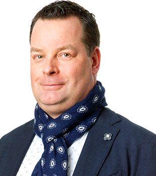 Johan Fröbel, chef för teknik och distribution på Svenskt Trä.