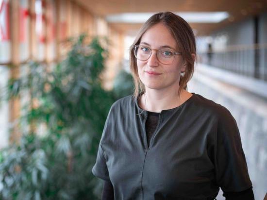 Rebecca Deutsch, gruppchef för WSPs landskapsarkitekter i Stockholm.