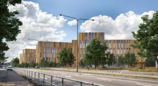 Nya sjukhuset i Helsingborg, av LINK arkitektur.