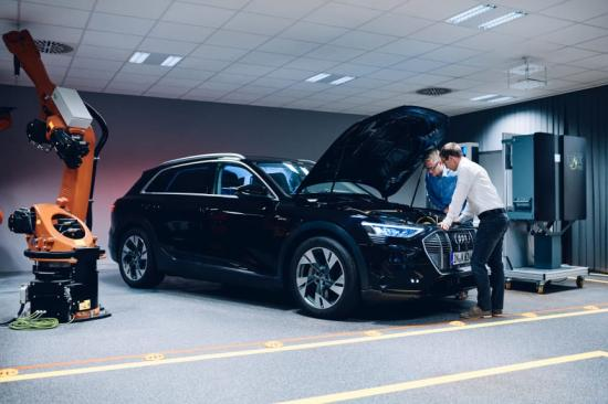 Hager och Audi ska ge energi till svenska hem.